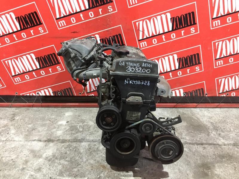 Двигатель Toyota Corolla Ceres AE101 4A-FE 1992 №K498723