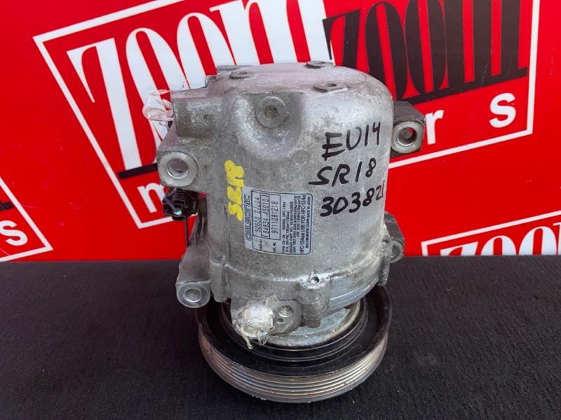 Компрессор кондиционера Nissan Bluebird EU14 SR18DE 1996
