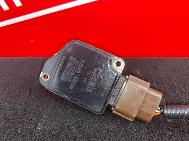 Расходомер (датчик расхода воздуха) Nissan Bluebird HU14 SR20DE 1996