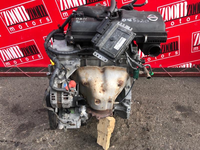 Двигатель Nissan Cube BZ11 CR14DE 2002