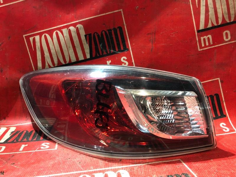 Фонарь (стоп-сигнал) Mazda Axela BL6FJ Z6 2009 задний левый 85-24