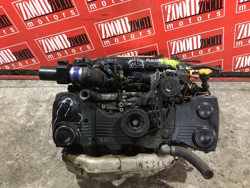 Двигатель Subaru Legacy BP5 EJ20-T 2003 №D922996