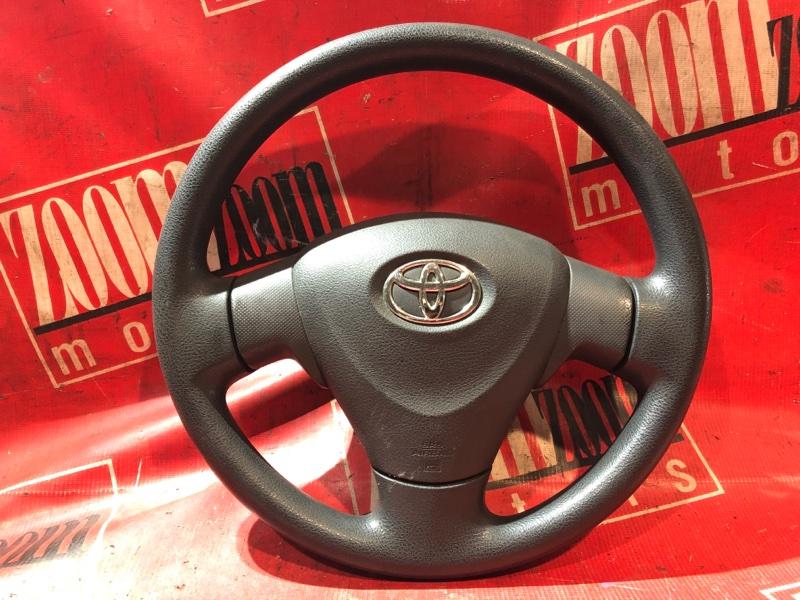 Руль Toyota Auris ZRE152 2ZR-FAE 2006 передний черный