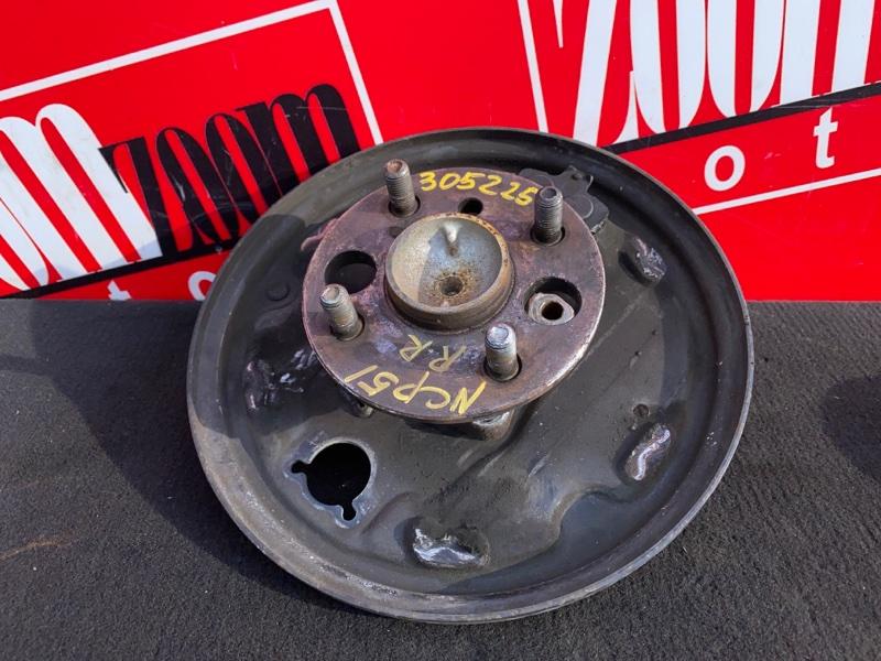 Ступица Toyota Probox NCP51V 1NZ-FE 2002 задняя правая