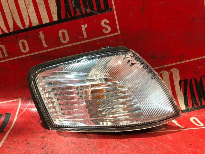 Поворотник (габарит) Nissan Ad VFY11 QG15DE 1999 передний правый 34-32