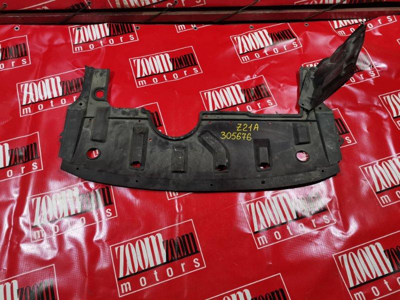 Защита двс Mitsubishi Colt Z25A 4G19 2002 передняя