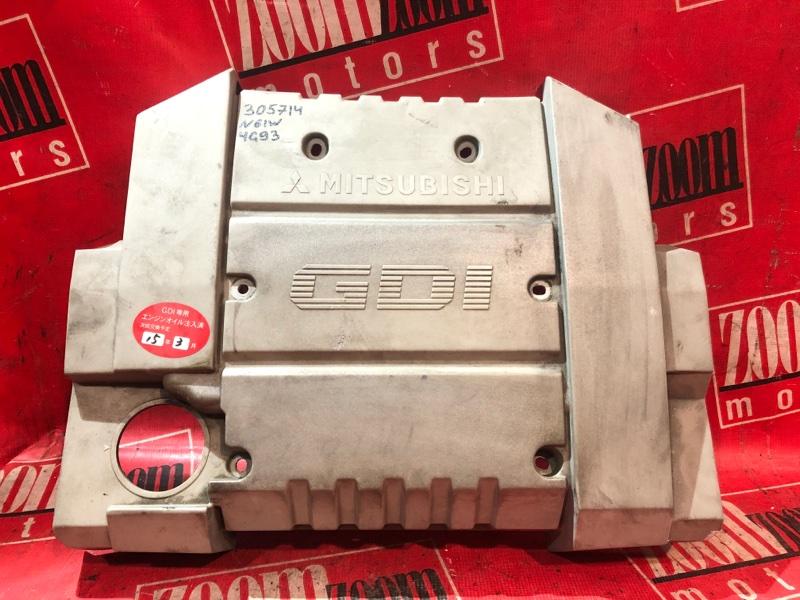Крышка на двигатель декоративная Mitsubishi Rvr N61W 4G93 1997 передняя