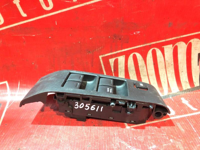 Блок управления стеклоподъемниками Honda Fit GE6 L13A 2005 передний черный
