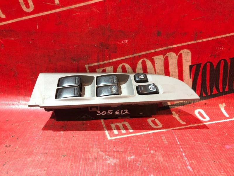 Блок управления стеклоподъемниками Nissan Sunny FB15 QG15DE 1998 передний серый