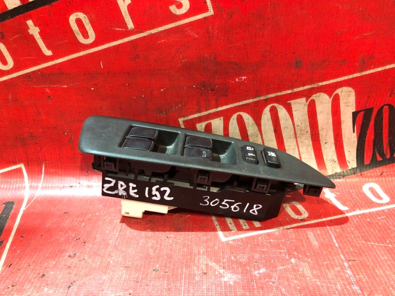 Блок управления стеклоподъемниками Toyota Auris ZRE152 2ZR-FAE 2006 передний черный