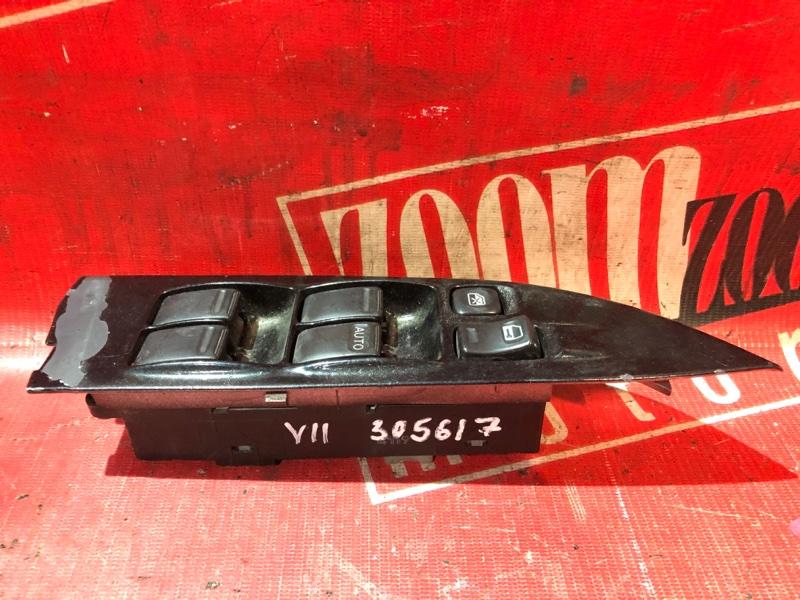 Блок управления стеклоподъемниками Nissan Wingroad WFY11 QG15DE 1998 передний черный