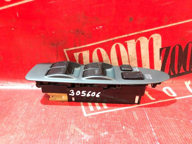 Блок управления стеклоподъемниками Toyota Corolla Ceres AE101 5A-FE 1992 передний серый