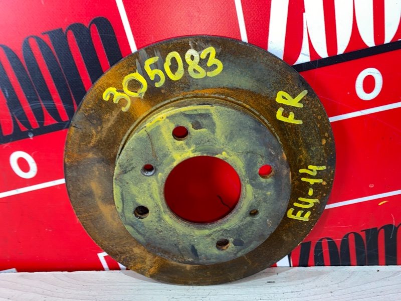 Диск тормозной Nissan Bluebird EU14 SR18DE 1996 передний