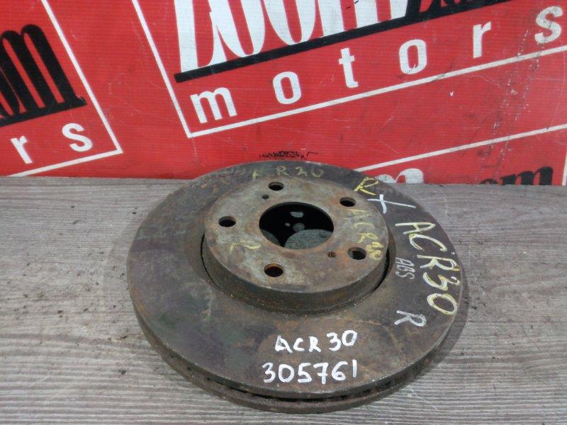 Диск тормозной Toyota Estima ACR30 2AZ-FE 2003 передний
