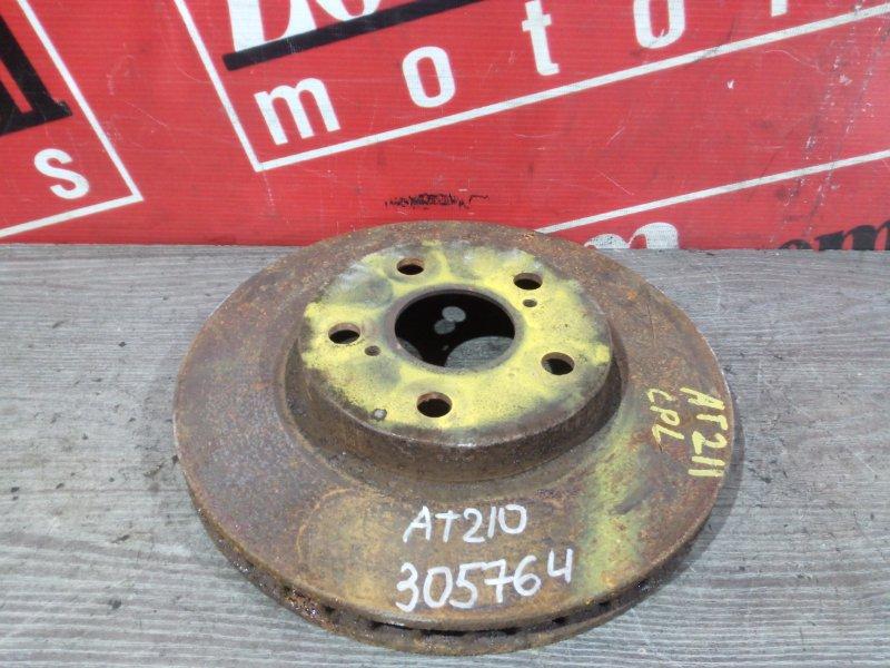 Диск тормозной Toyota Carina AT210 5A-FE 1996 передний