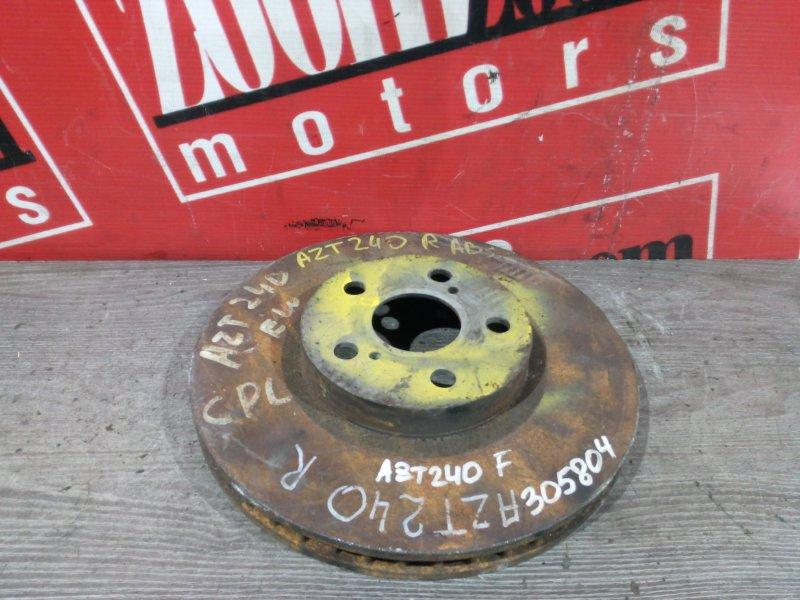 Диск тормозной Toyota Allion AZT240 1AZ-FSE 2001 передний