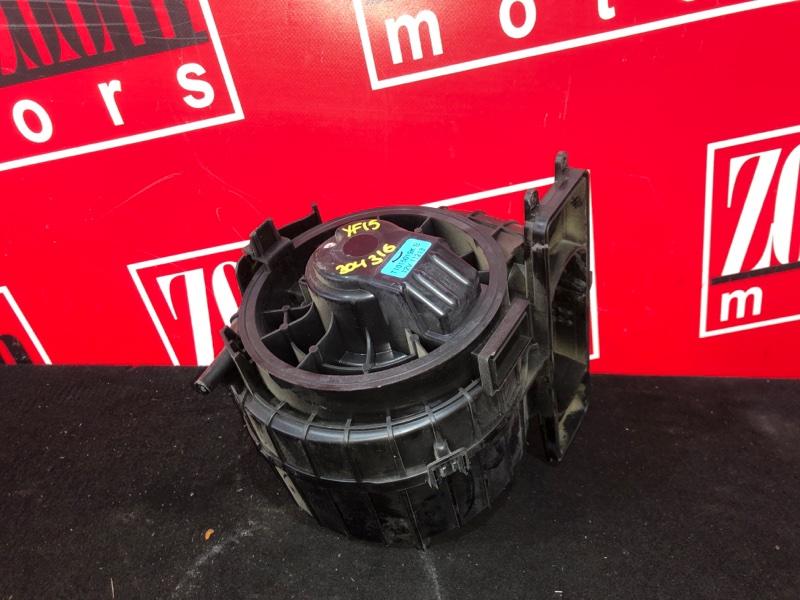 Вентилятор (мотор отопителя) Nissan Juke YF15 HR15DE 2010