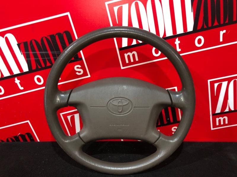 Руль Toyota Vista SV40 4S-FE 1994 коричневый