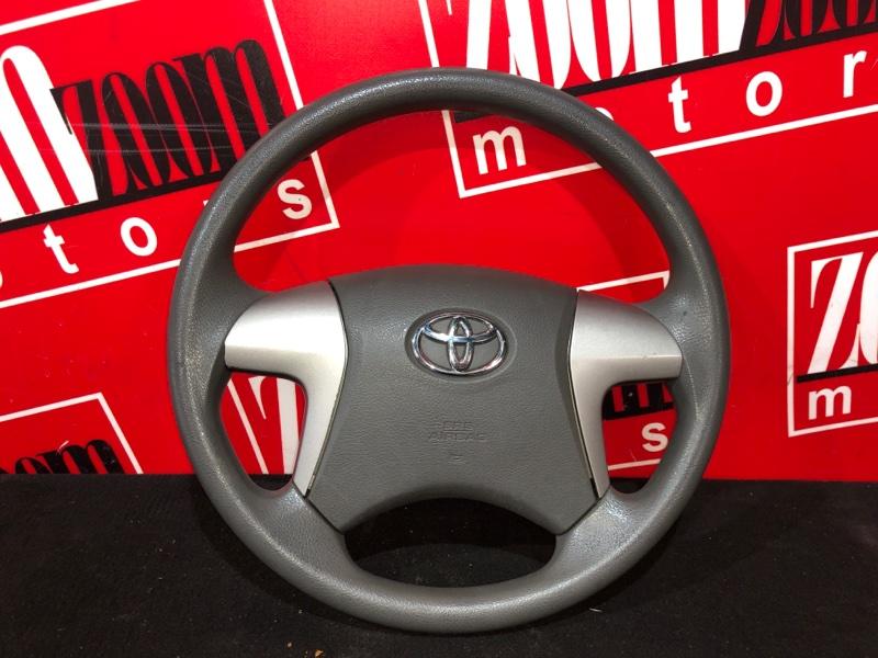 Руль Toyota Corolla Axio NZE141 1NZ-FE 2006 коричневый