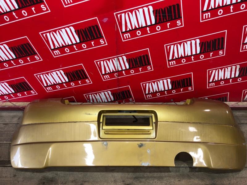 Бампер Toyota Vitz SCP10 1SZ-FE 1999 задний коричневый