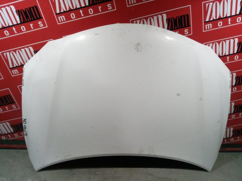 Капот Toyota Camry ACV40 2AZ-FE 2006 передний белый