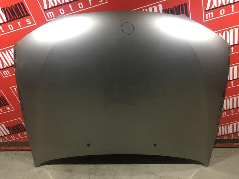 Капот Nissan Bluebird Sylphy TG10 QR20DD 2000 передний серебро