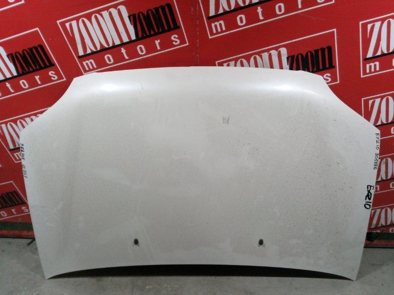 Капот Toyota Raum EXZ10 5E-FE 1997 передний белый