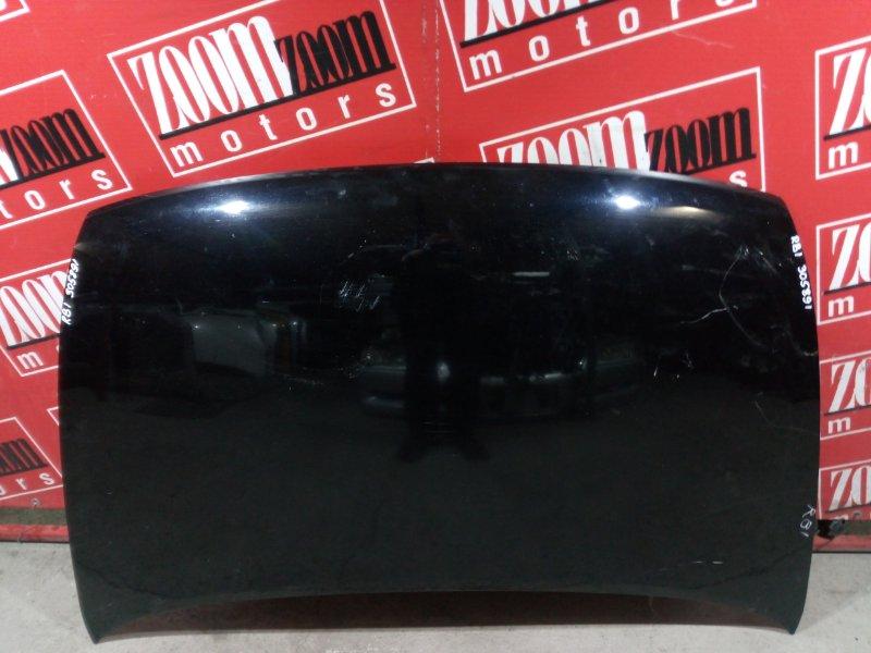 Капот Honda Odyssey RB1 K24A 2003 передний черный