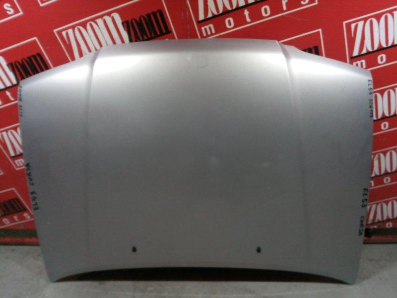 Капот Toyota Corsa EL53 5E-FE 1994 передний голубой