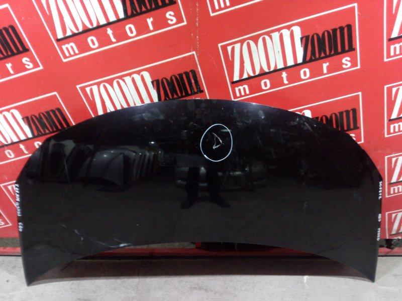 Капот Honda Freed GB3 L15A 2007 передний баклажан