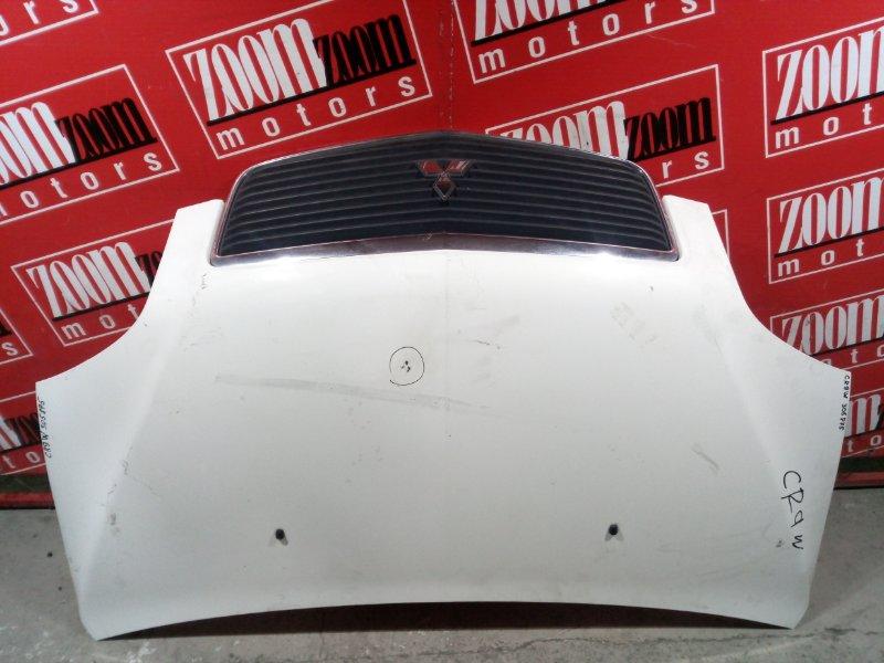 Капот Mitsubishi Dion CR9W 4G93 2000 передний белый