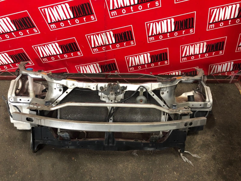 Рамка радиатора Nissan Wingroad WFY11 QG15DE 2002 серебро