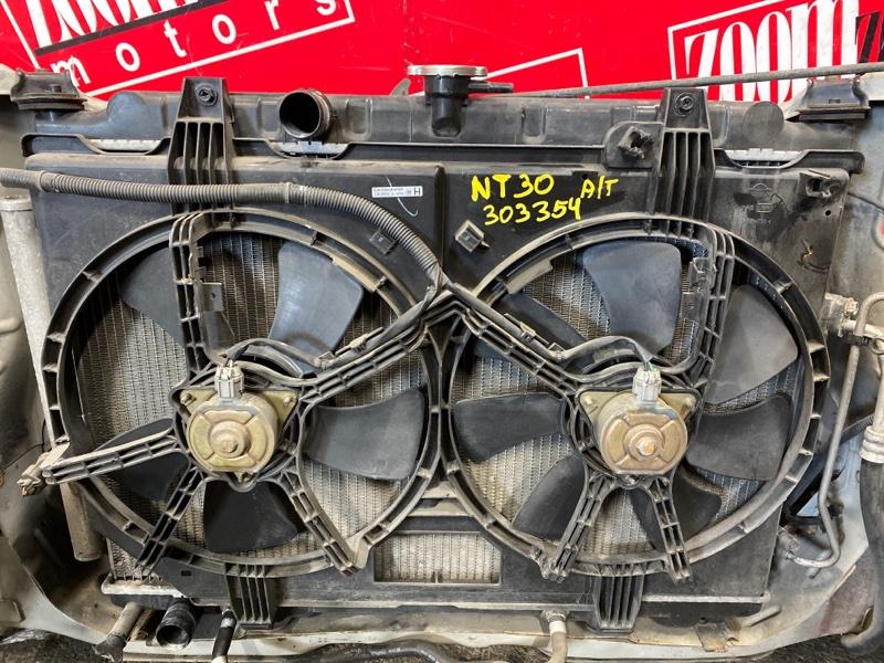 Радиатор двигателя Nissan X-Trail NT30 QR20DE `2000