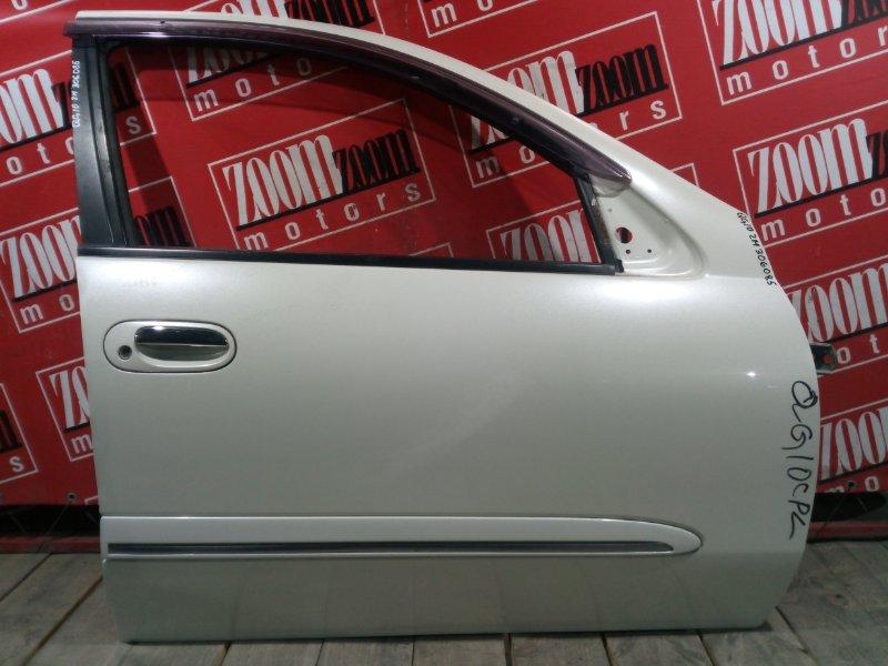 Дверь боковая Nissan Bluebird Sylphy QG10 QG18DE 2003 передняя правая белый перламутр