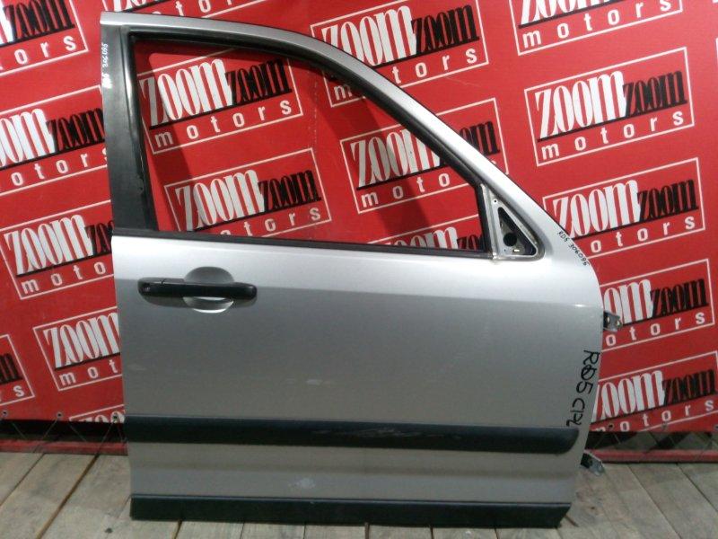 Дверь боковая Honda Cr-V RD5 K20A 2001 передняя правая серебро