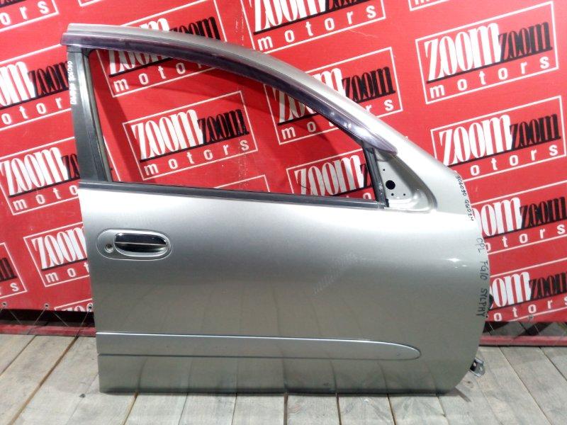 Дверь боковая Nissan Bluebird Sylphy QG10 QG18DE 2003 передняя правая серый