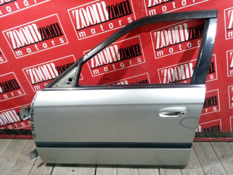 Дверь боковая Honda Domani MB3 D15B 1995 передняя левая серебро