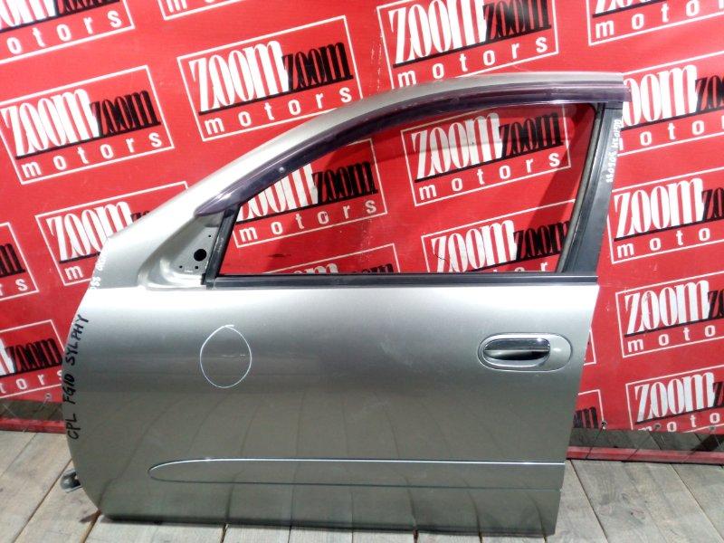 Дверь боковая Nissan Bluebird Sylphy QG10 QG18DE 2003 передняя левая серый