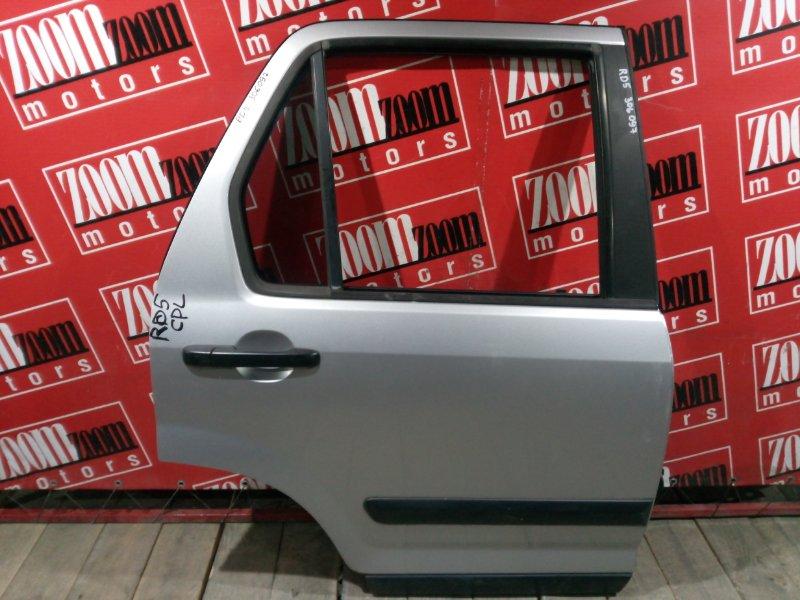 Дверь боковая Honda Cr-V RD5 K20A 2001 задняя правая серебро