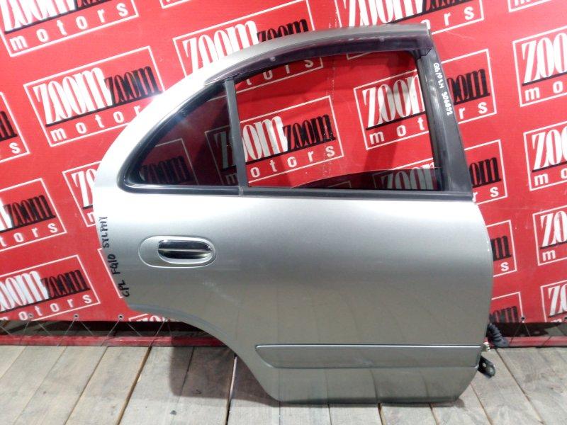 Дверь боковая Nissan Bluebird Sylphy QG10 QG18DE 2003 задняя правая серый