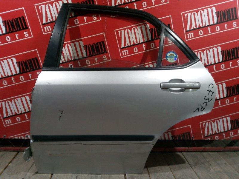 Дверь боковая Honda Accord CF3 F18B 1997 задняя левая серебро