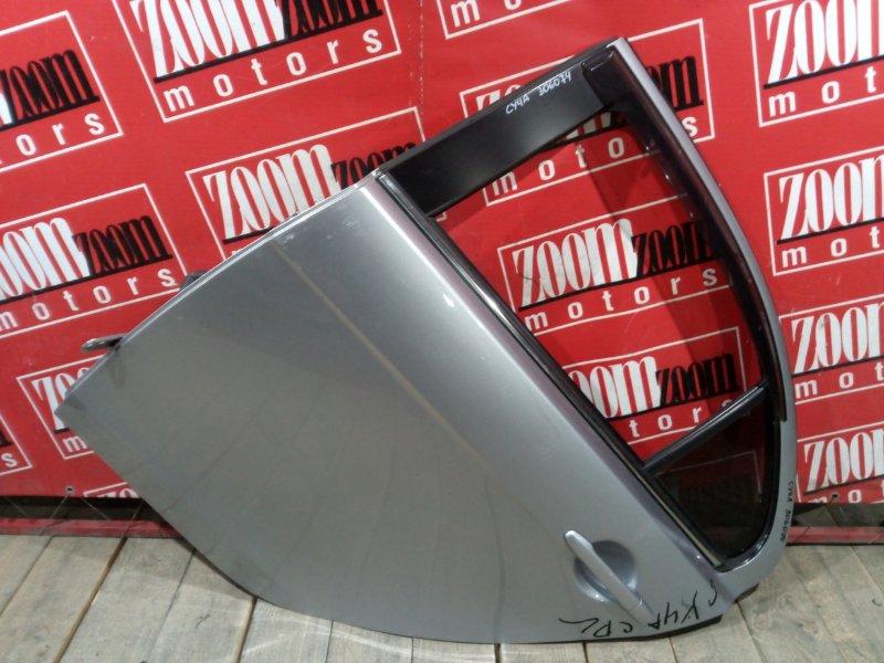 Дверь боковая Mitsubishi Lancer X CY4A 4B11 2007 задняя левая серебро