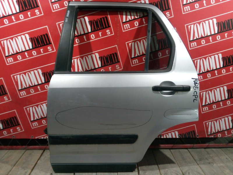 Дверь боковая Honda Cr-V RD5 K20A 2001 задняя левая серебро