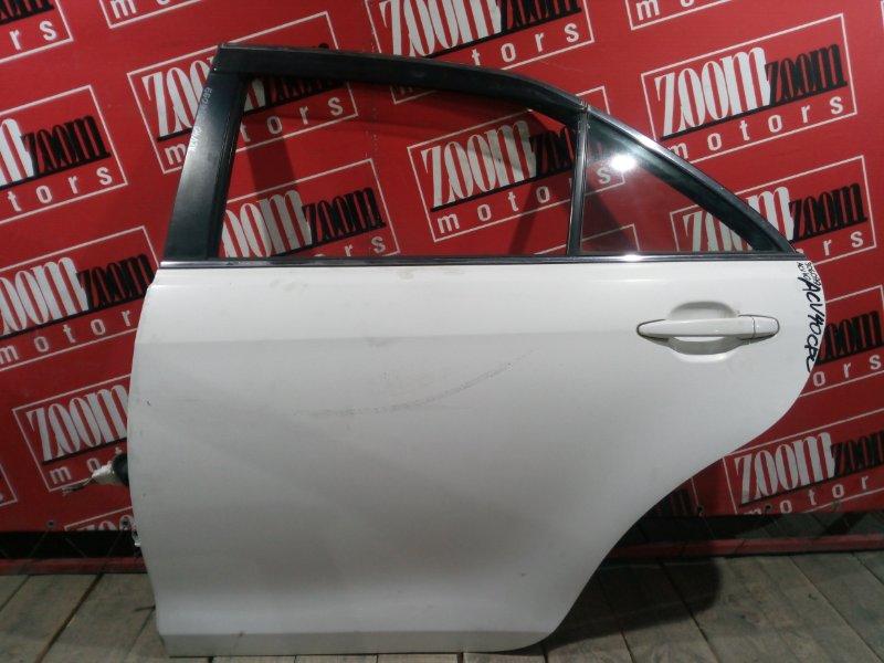 Дверь боковая Toyota Camry ACV40 2AZ-FE 2006 задняя левая белый