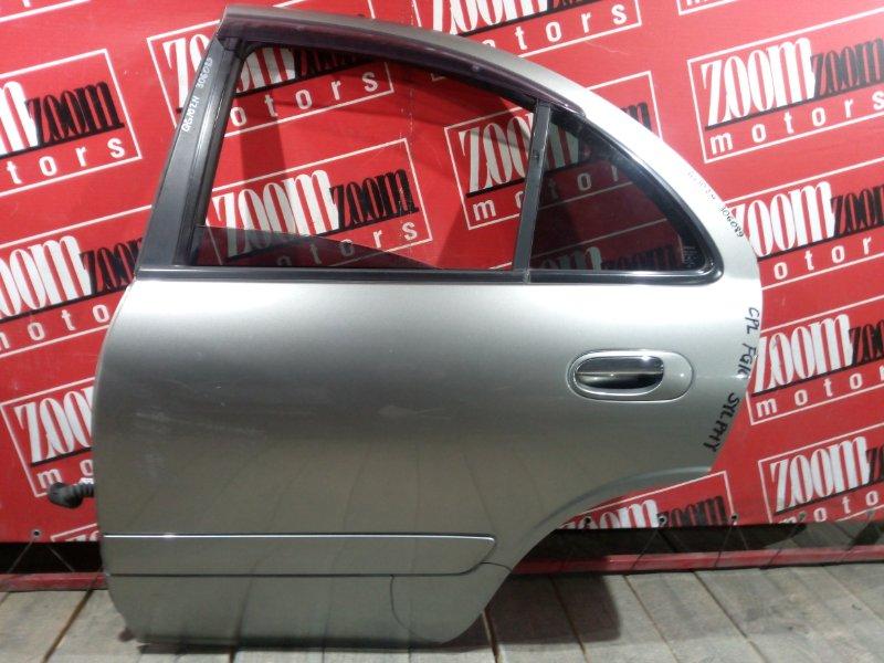 Дверь боковая Nissan Bluebird Sylphy QG10 QG18DE 2003 задняя левая серый