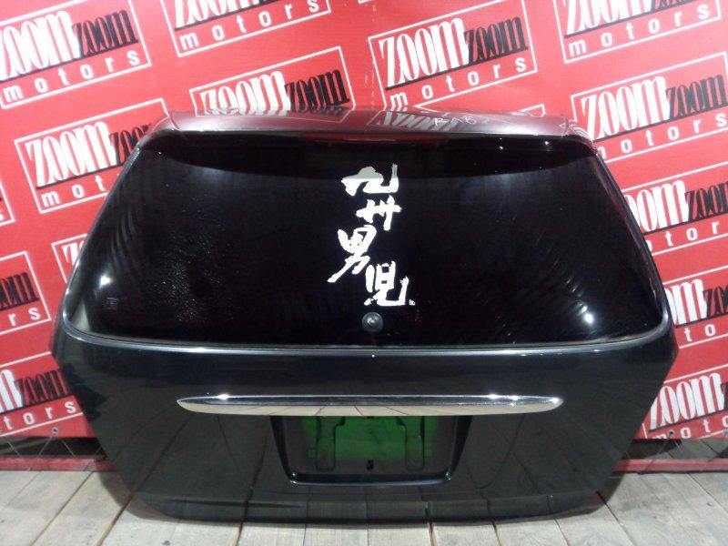 Дверь задняя багажника Honda Odyssey RA6 F23A 1998 задняя черный