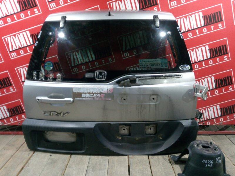 Дверь задняя багажника Honda Cr-V RD5 K20A 2001 задняя серебро