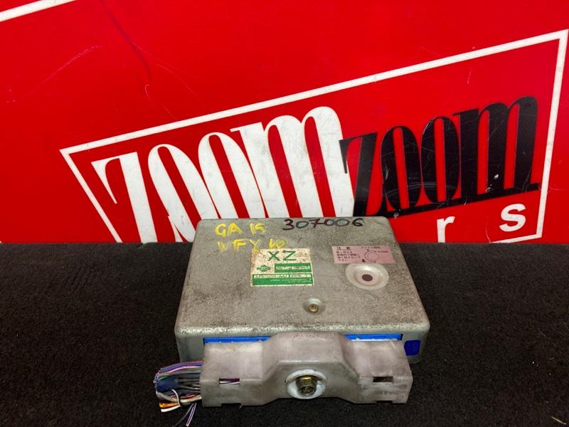 Компьютер (блок управления) Nissan Wingroad WFY10 GA15DE 1996 23710 9M066