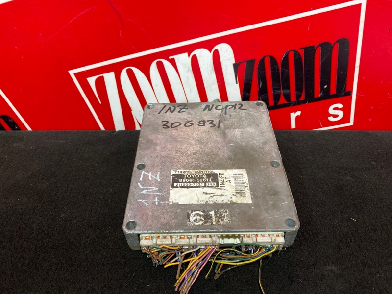 Компьютер (блок управления) Toyota Platz NCP12 1NZ-FE 1999 89661-52611