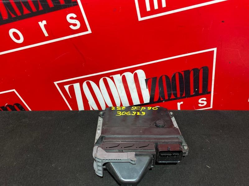 Компьютер (блок управления) Toyota Vitz SCP90 2SZ-FE 2005 89661-52M70